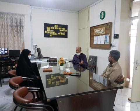 برگزاری جلسه پیرامون ساماندهی و برنامه ریزی امور سرویس دهی دانش آموزان