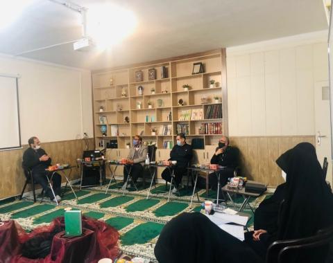 برگزاری پنجمین جلسه ی هم اندیشی معاونین محترم پرورشی مقطع متوسطه مدارس امام حسین علیه السلام
