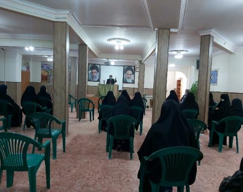 برگزاری جلسه توجیهی ویژه اعتکاف نوروز ۱۴۰۰