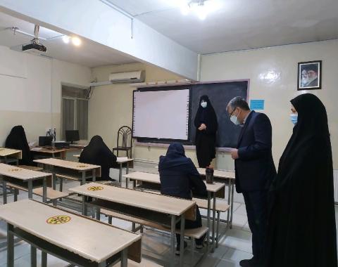 برگزاری آزمون آزمایشی ویژه سنجش و ارزیابی دانش آموزان برتر و شرکت کنندگان چالش پیشرفت تحصیلی