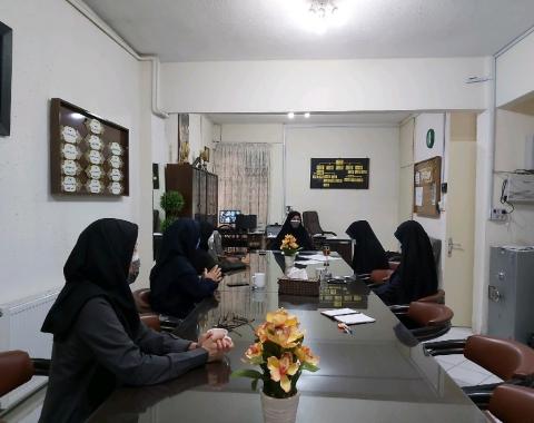 برگزاری بیستمین جلسه ی هم اندیشی مدیریت محترم آموزشگاه و کادر اجرایی