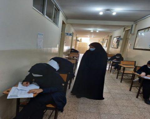 برگزاری آخرین مرحله آزمون جامع سنجش در آموزشگاه